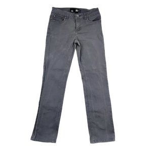 RSQ Jeans Boy 16 27x28 Gray London Skinny Stretch